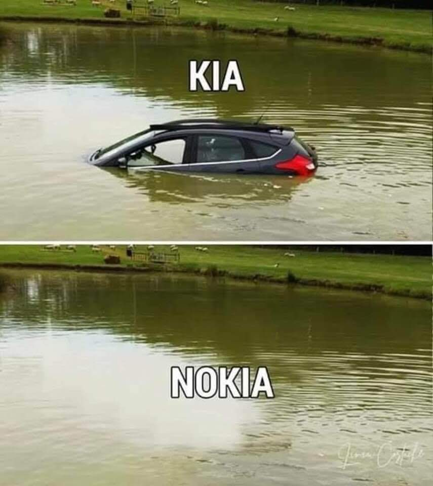 Parting Shot: Kia vs. Nokia