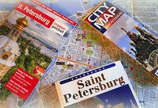 Saint Petersburg travel guide books