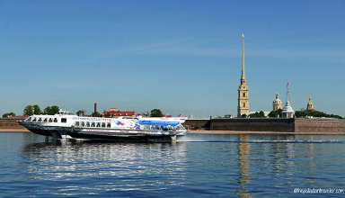 Peter and Paul Fortress on Hare Island, St. Petersburg