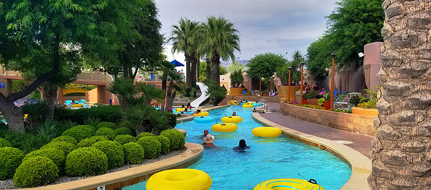 the Oasis Pool at Morongo Casino, Resort & Spa