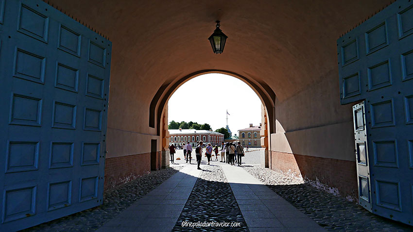 inside the Peter and Paul Fortress, St. Petersburg