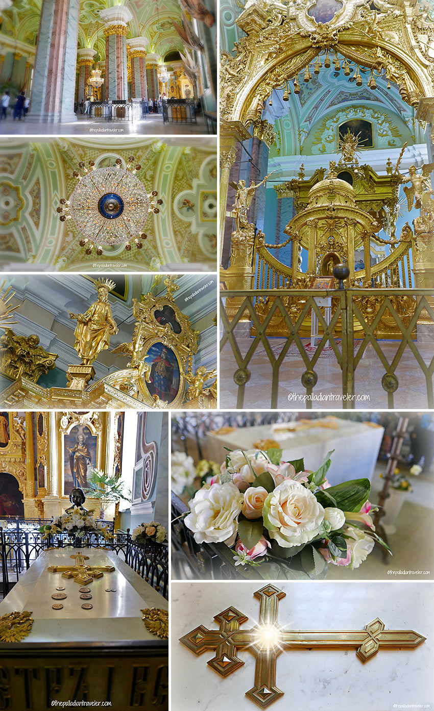 interior views of Saints Peter and Paul Cathedral