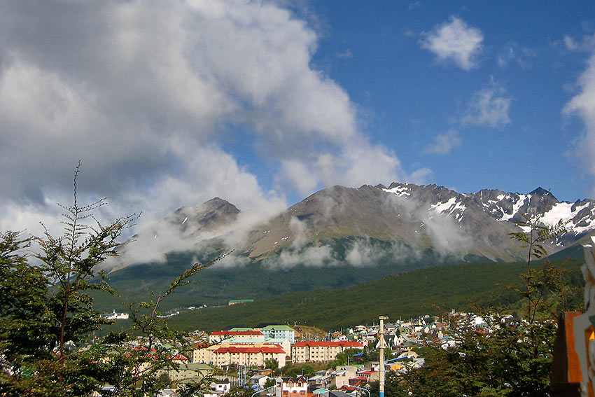 Ushuaia, Argentina - where Antarctica view begins