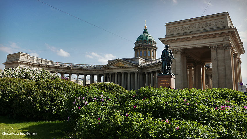 the 18th century summer palace of Peterhof, St. Petersburg