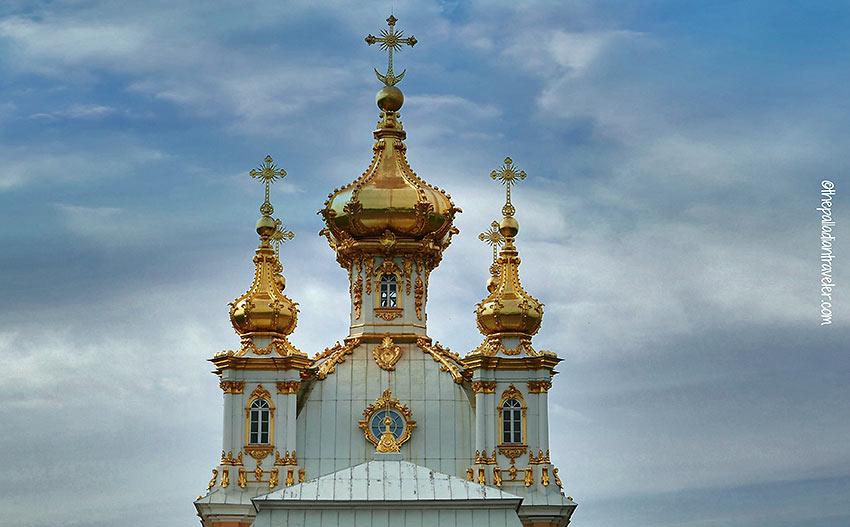 church spire, St. Petersburg