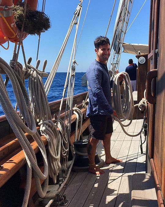 Spanish sailor
