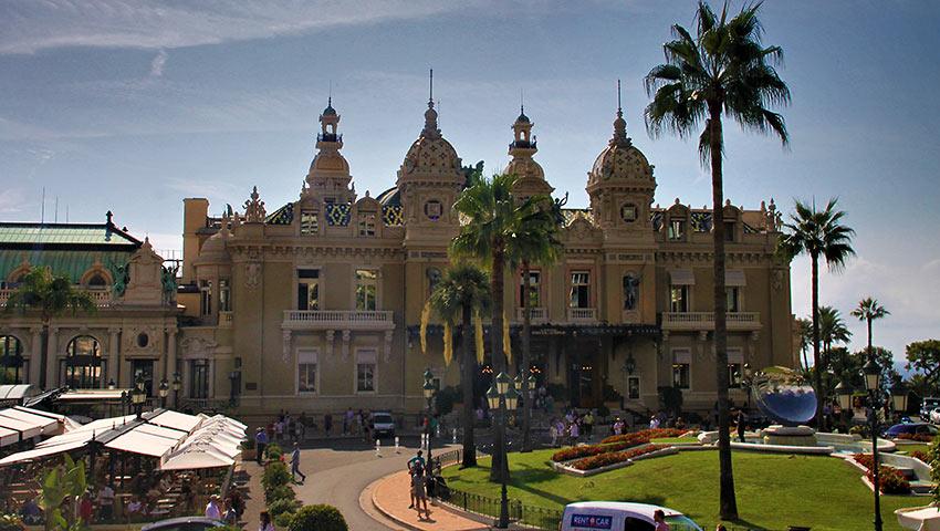 the Casino de Monte-Carlo, Monaco