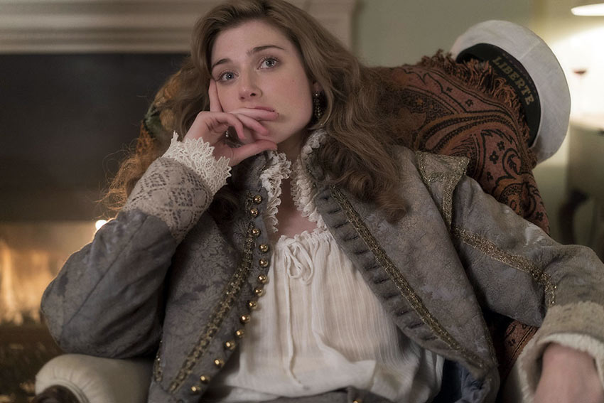 Elizabeth Debicki as Virginia Woolf