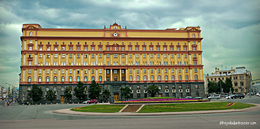 former headquarters building of the KGB, Lubyanka Square