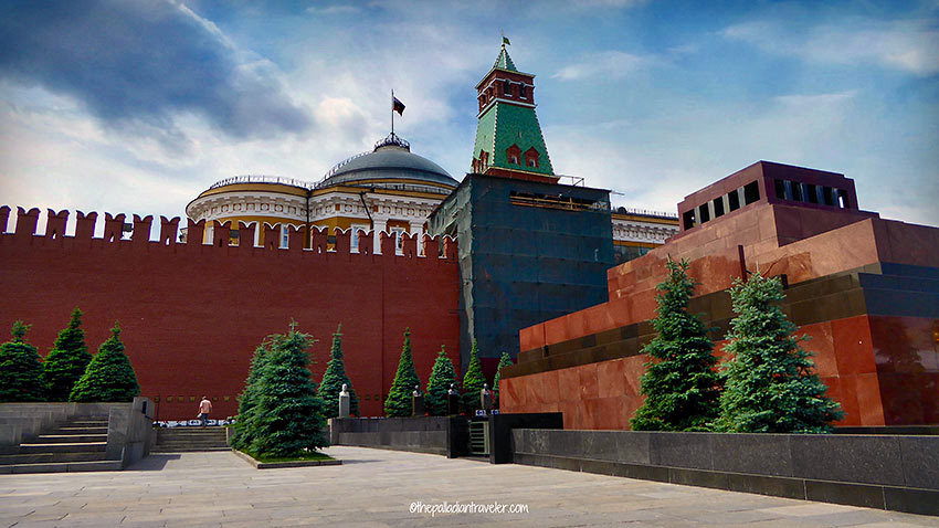 Kremlin Wall Necropolis, Red Square, Moscow
