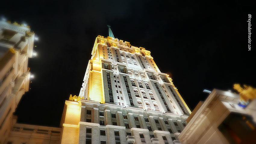 one of the Seven Sisters skyscrapers