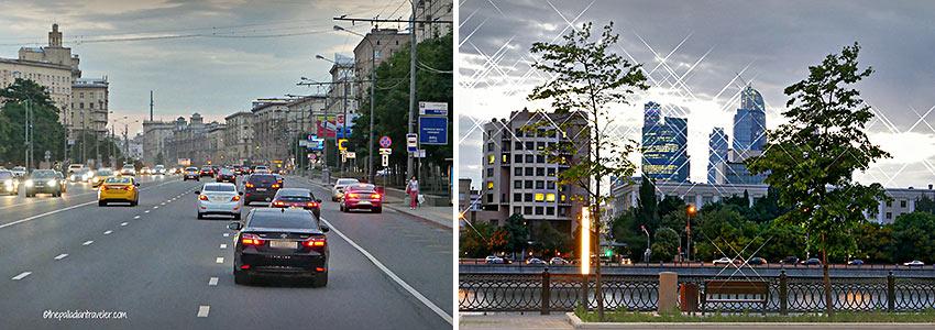street scenes, Moscow