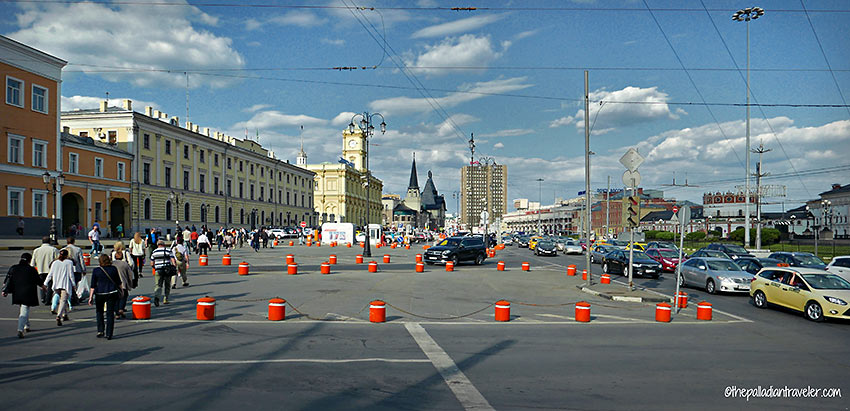 the Leningradsky, Komsomolskaya Square, St. Petersburg