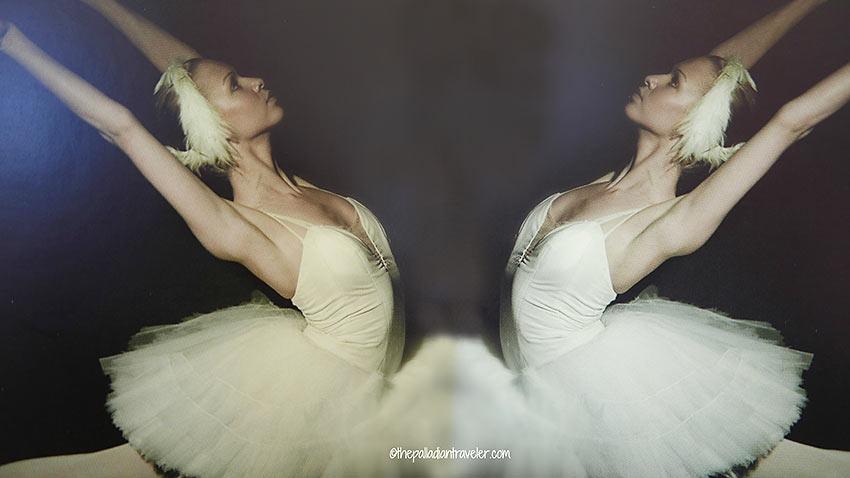 prima ballerina as Princess Odette in Swan Lake