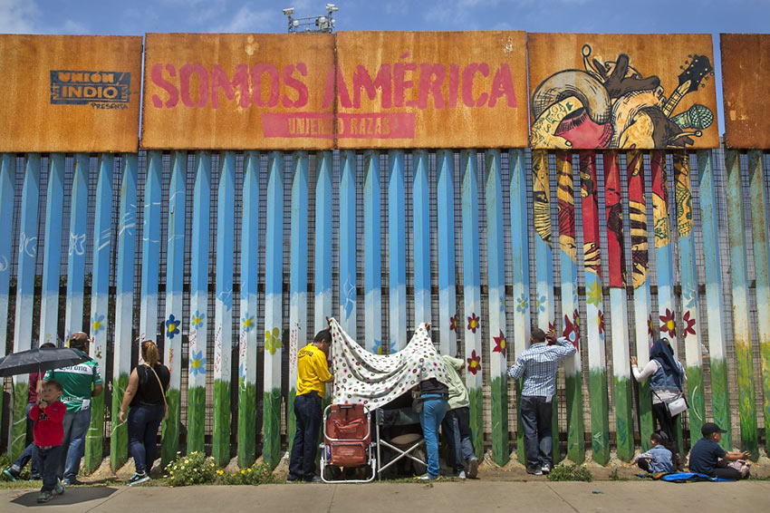 The Wall by Griselda San Martin