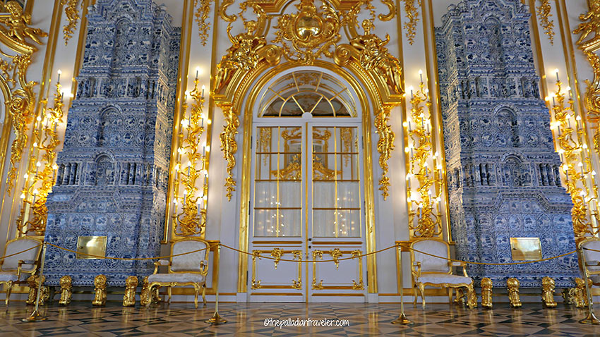 tiled stoves, Catherine Palace