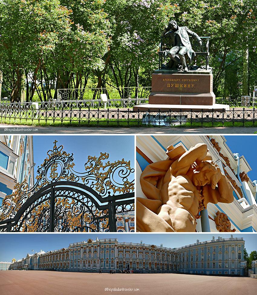Catherine Palace grounds, Tsarskoe Selo