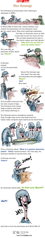 TGIF Joke of the Week: War Strategy