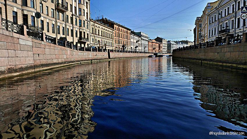 waterway at St. Petersburg