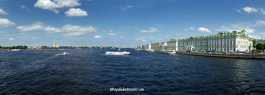 Winter Palace and the Baltic Sea, St. Petersburg