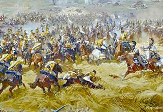 Battle of Borodino painting, Battle of Borodino Panorama Musem in Moscow