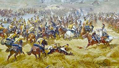 Battle of Borodino painting, Battle of Borodino Panorama Musem in Moscow