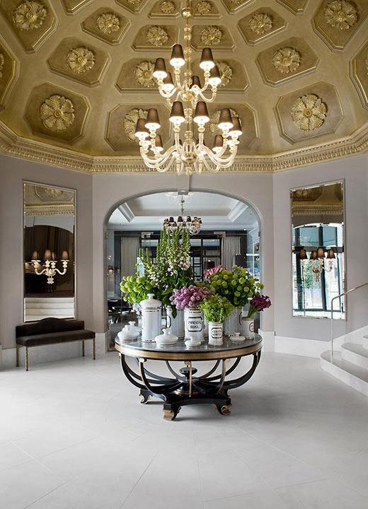 Hotel d'Angleterre lobby