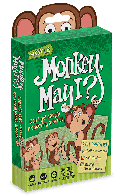 Hoyle Monkey, May I? card set