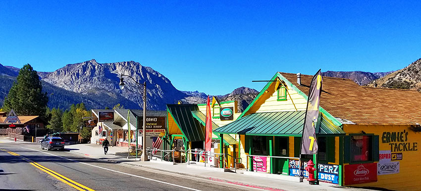 the town of June Lake