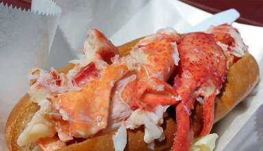 Maine: Cold Lobster Roll