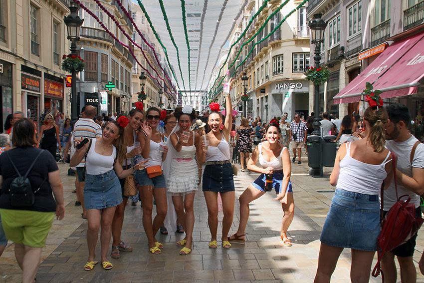 seven day celebration is endless at the Feria de Málaga