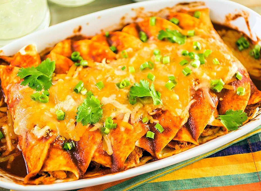 New Mexico: Enchiladas with Christmas on the Side