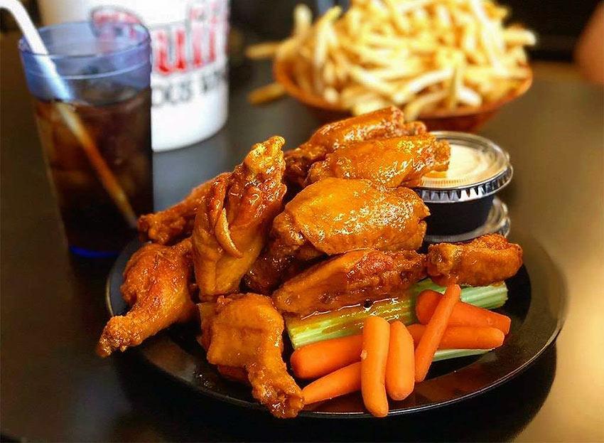New York: Buffalo Chicken Wings