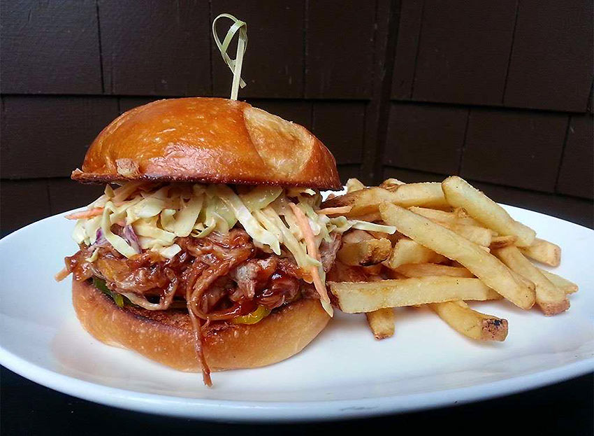 North Carolina: Pulled Pork with East Carolina Vinegar Sauce