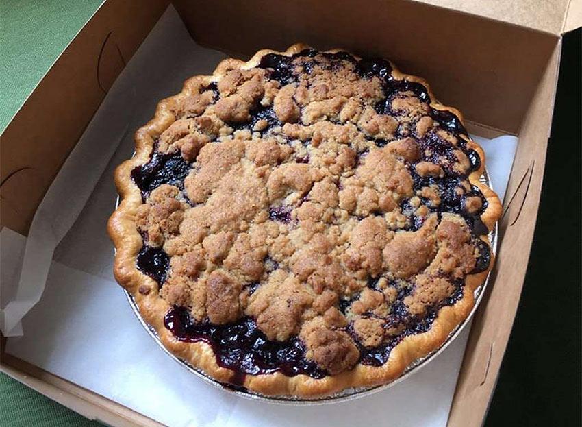 Oregon: Marionberry Pie