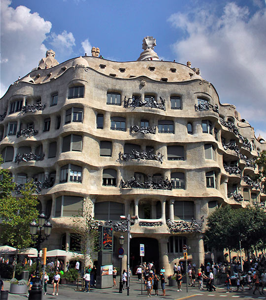 Casa Batlló or The Stone Quarry, Barcelona