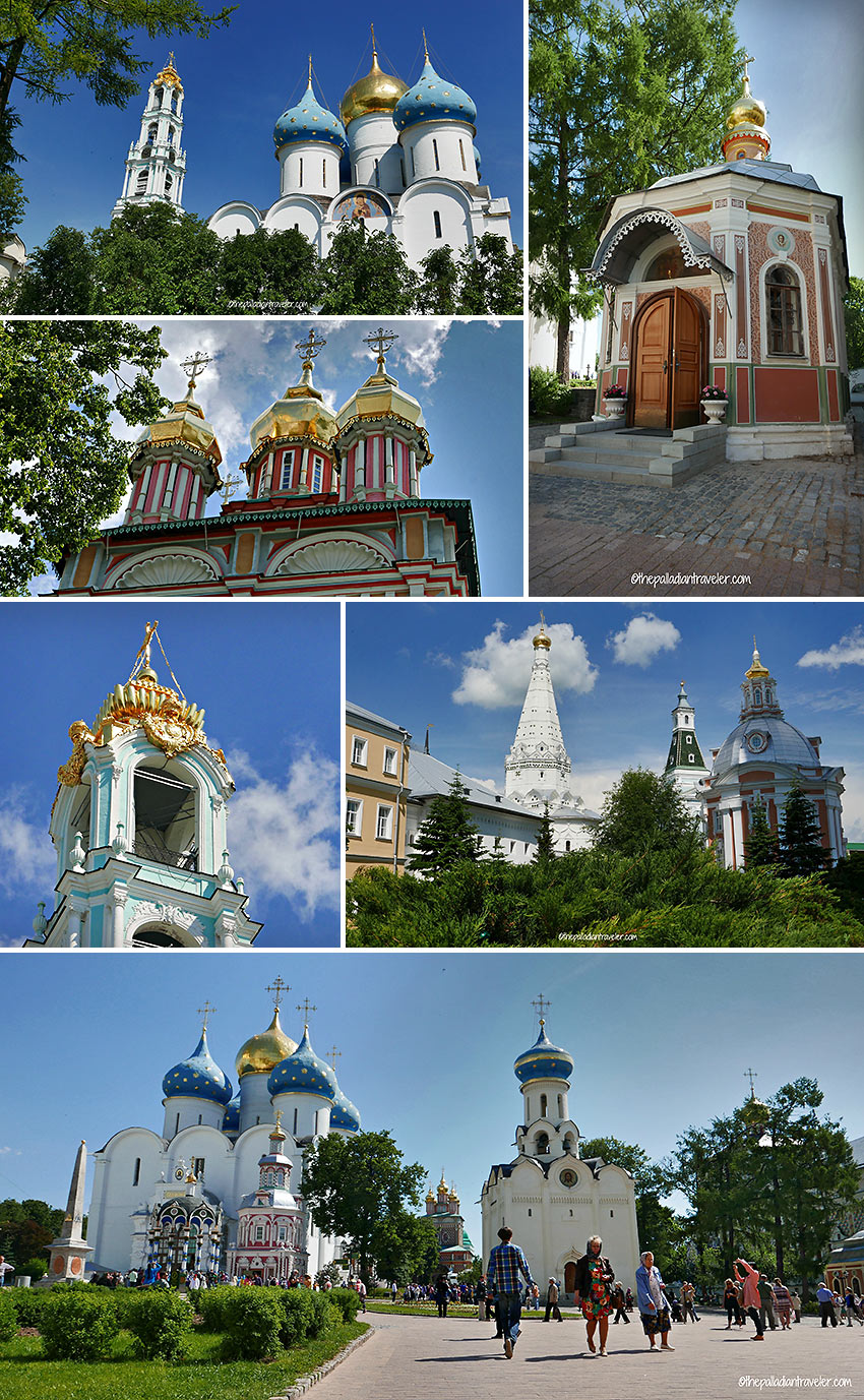 Trinity Lavra of Saint Sergius' cathedrals and churches