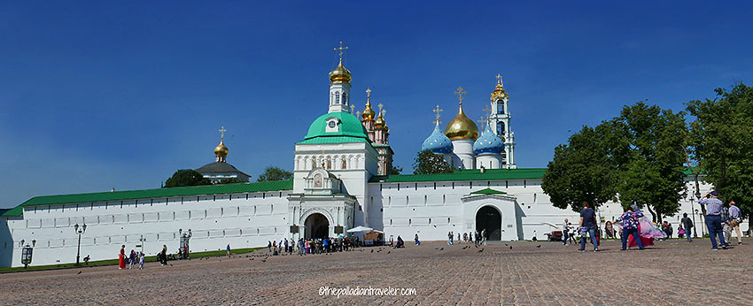 Trinity Lavra of Saint Sergius exterior, Moscow