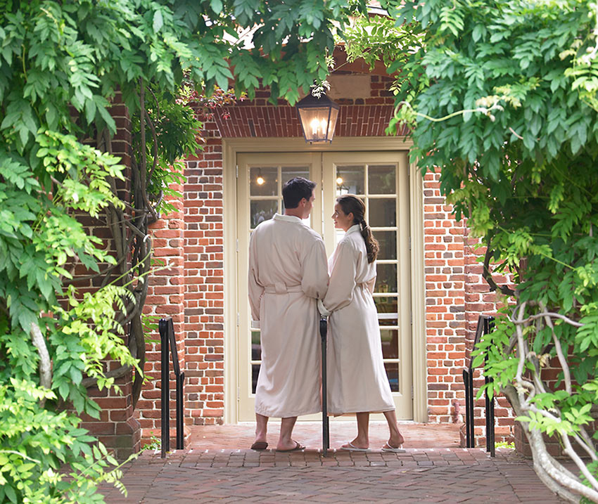 Spa of Colonial Williamsburg