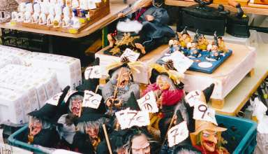witch dolls for sale at Galicia, Spain