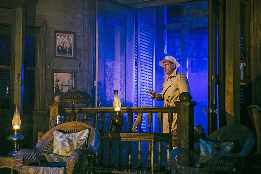 Andy Garcia as Johnny Rocco in 'Key Largo'