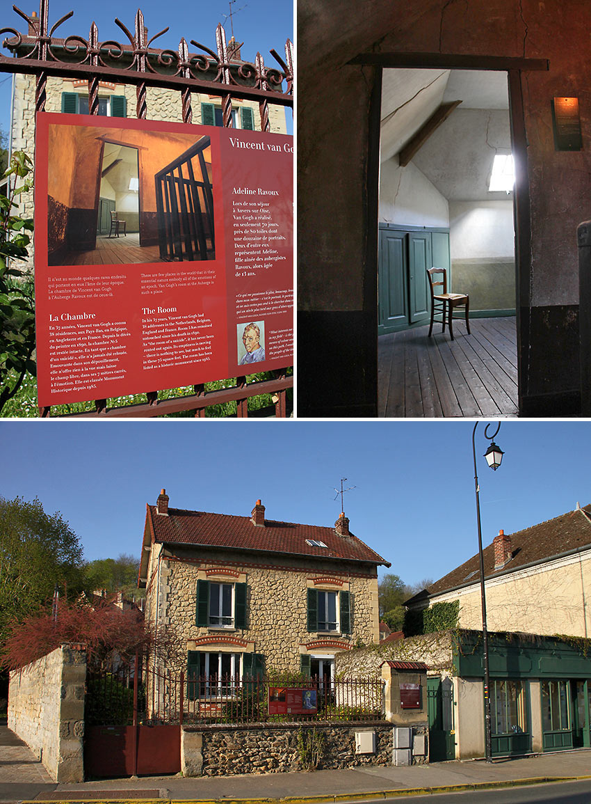 Auberge Ravoux or The House of Van Gogh