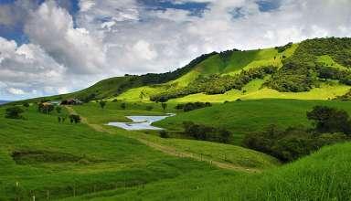 a scenery in Costa Rica