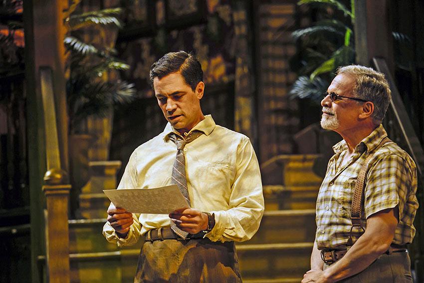 Danny Pino as Frank McCloud and Tony Plana as Mr. D'Alcala in 'Key Largo'