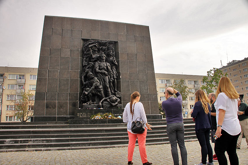 Ghetto Heroes Monument, Warsaw