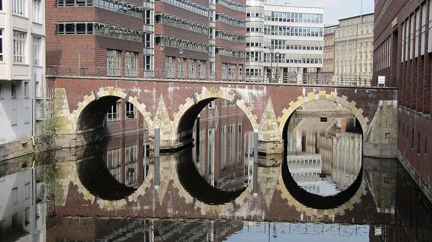 bridge in Hamburg