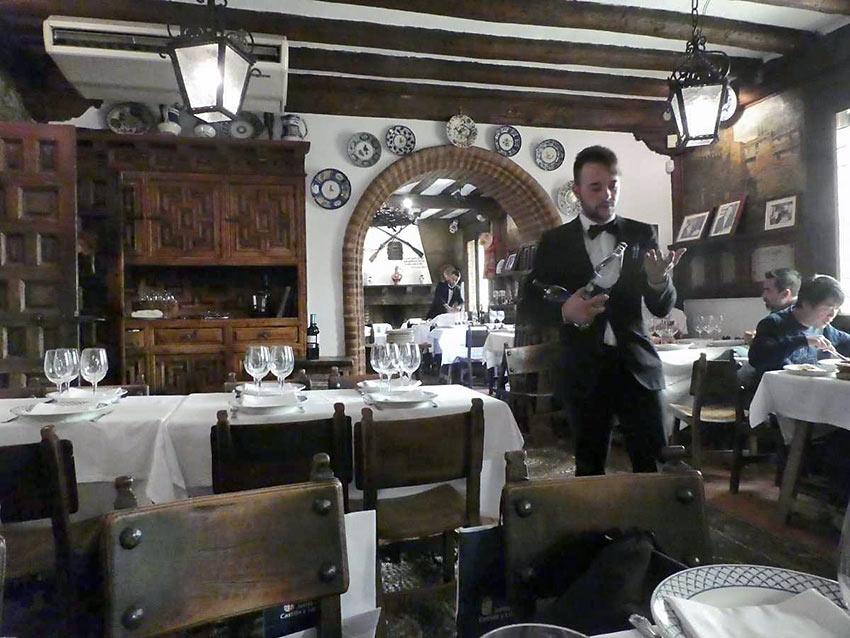 the Mesón de Cándido restaurant