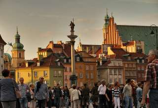 Old Town Warsaw, Poland