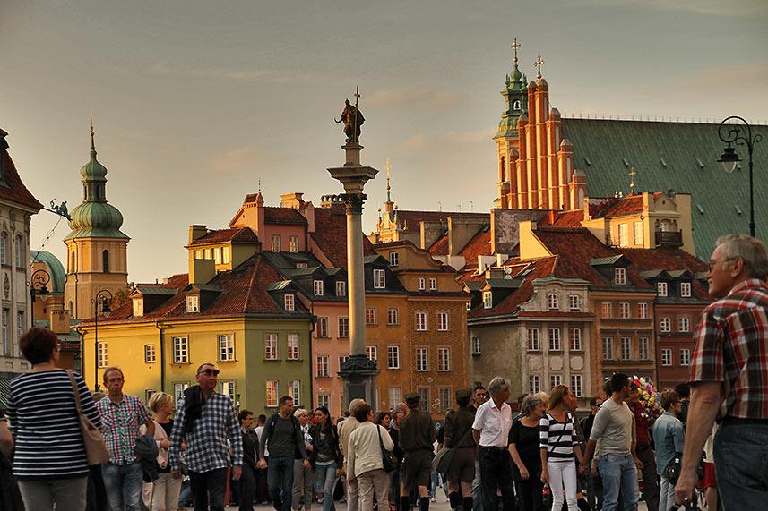 Old Town Warsaw, Poland