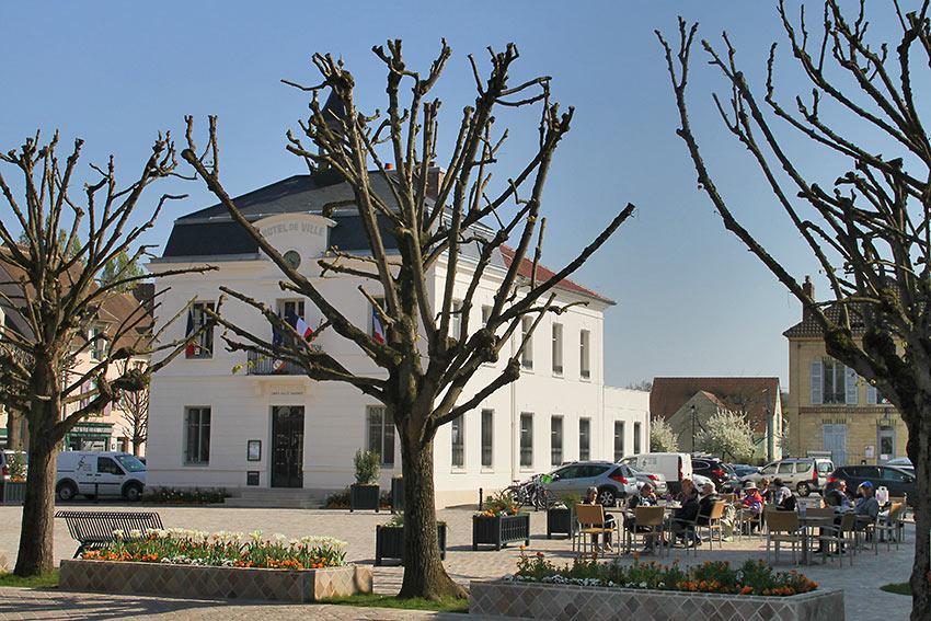 Auvers-sur-Oise scene